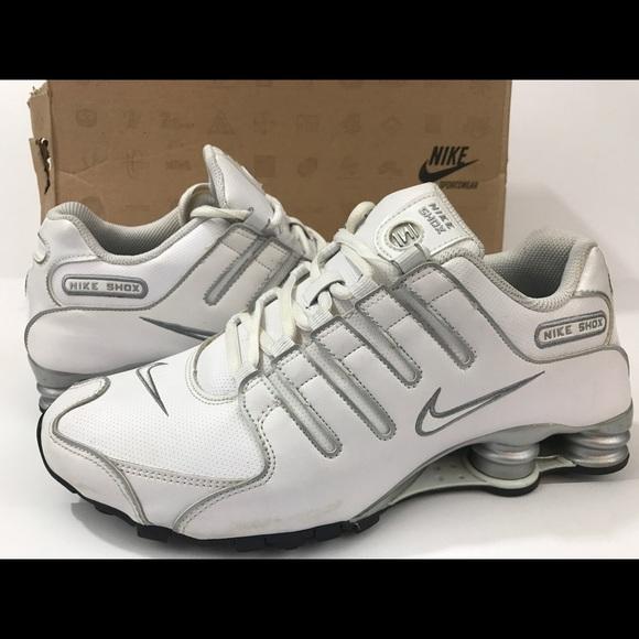 Nike Shox NZ running walking shoe size 8 men's